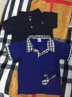 Bundle baby polo shirts