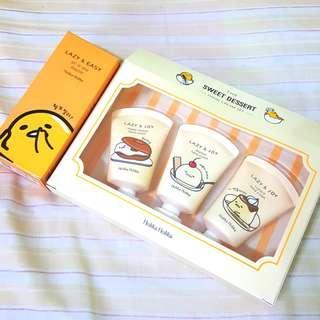 Holika Holika Gudetama Set (Hand Cream & Moisture Essence)