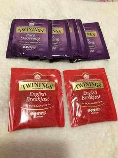 全8個英國twinnings 茶包,tea bag