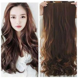 2 for 35 Korean ulzzang Marshmallow curls extensions