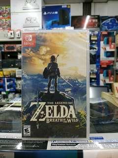 🆕 Nintendo Switch The Legend of Zelda Breath of The Wild