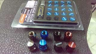 raynut short steel 20pcs with lock nut