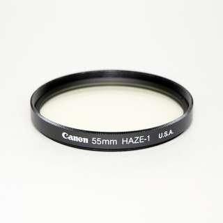 🚚 [Exc] Canon 55mm UV Haze Filter