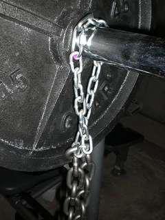 Weightlifting chain 8kg 12kg