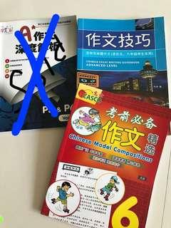 P5&P6 chinese composition books in bundle