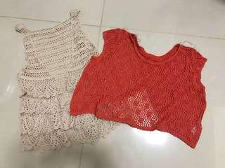 Two Crocheted Tops for P150