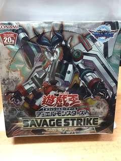Yugioh savage strike booster box sealed