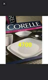 corelle 16pcs dining ware