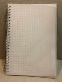 A5 Grid Notebook Muji Style