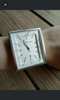 Calvin Klein Jeans皮革手腕錶