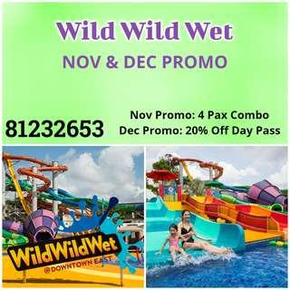 Wild Wild Wet - Nov & Dec promo