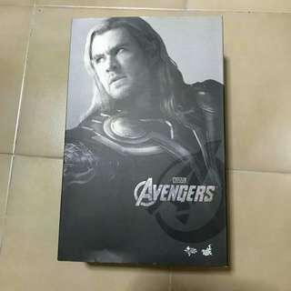 Hot toys avengers thor art box with plastic tray