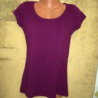 Plain Royal Violet Top