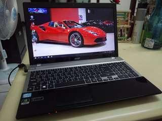 Acer i5/win10/4Gb/120Gb SSD/15.6inch/Gaming