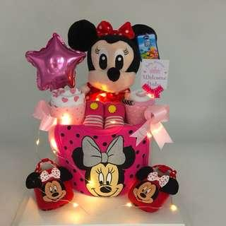 Ready stock! Minnie Diaper Cake - Best Value! Limited Stock