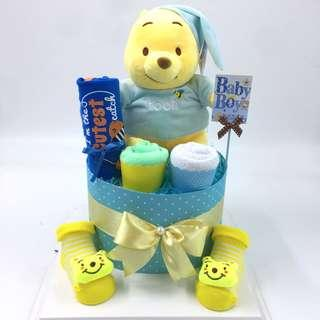 Ready stock ! Winnie the Pooh Diaper Cake