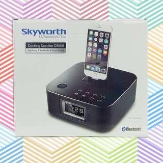 Skyworth 創維 iPod/iPhone Docking Speaker DS600 揚聲器 喇叭 碟機 鬧鐘