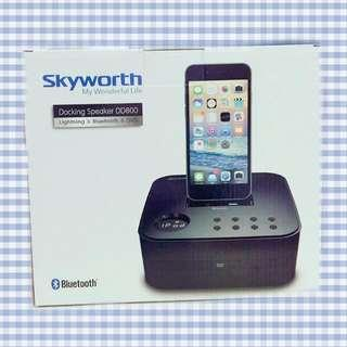 Skyworth 創維 iPod/iPhone Docking Speaker DD800 揚聲器 喇叭 碟機 鬧鐘
