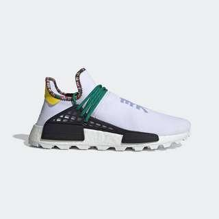 Adidas Originals PHARRELL WILLIAMS SOLARHU NMD SHOES WHITE