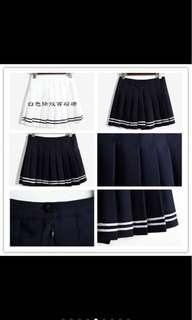 🚚 韓系必備黑色百褶裙 黑色 #十月女裝半價