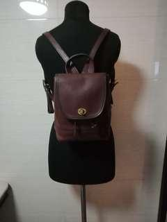Authentic Coach Small Backpack