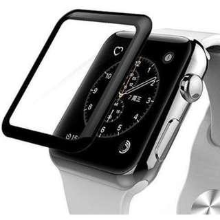 3D Full Cover Tempered Glass For iWatch 40mm/44mm