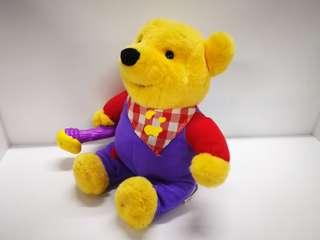 "13"" Winnie The Pooh Bear Talking Talks Plush Dolls Toys 1999"