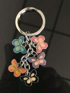 Keychain with Butterflies