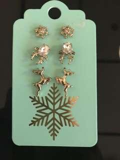 3 Holiday Earrings