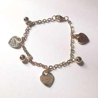Stainless Steel Tiffany & Co. Bracelet