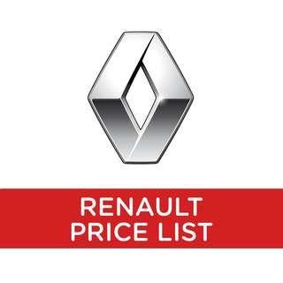 Renault Price List
