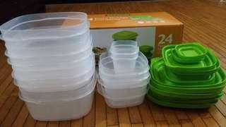 24 PIECE FOOD CONTAINER #BFhome