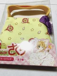 Cardcaptor Sakura Mini Tote Bag Rare Limited Clamp Authentic Merchandise Clow Clear Yue Kero Syaoran