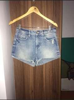 Zara Denim Shorts Large
