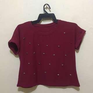 Sale!! Star Crop Top