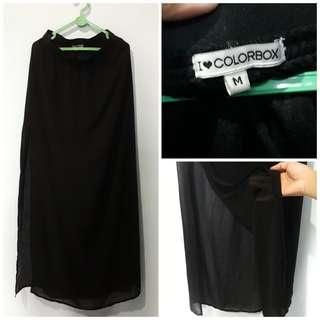 - black skirt - (Colorbox)