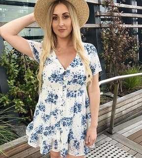 Sportsgirl Floral Tea Dress