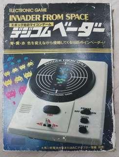 <W plaza> 70s Epoch 打怪獸 遊戲機 game & watch