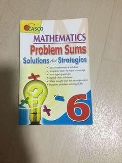 Casco P6 Mathematics problem sum