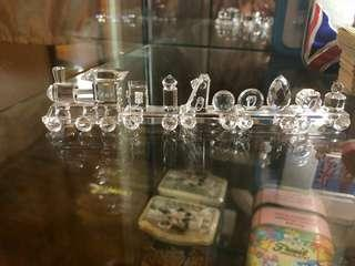施華洛水晶二千年2000紀念 火車