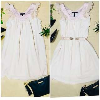 BCBG Maxazria Chiffon Shift Dress