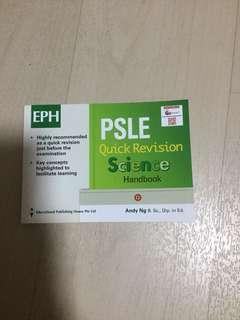 PSLE Quick Science handbook