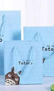 Totoro Paper Bag