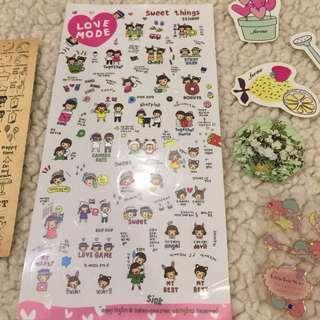 SALE! Pretty Pink Sticker Bundle