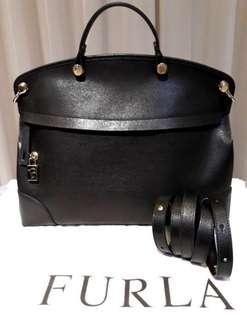 Furla Piper Large Black Onyx