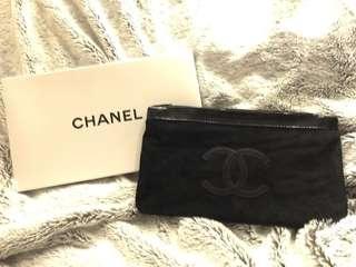 🚚 Chanel 絨面質感化妝包