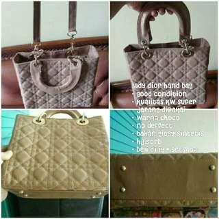 Lady dior hand bag