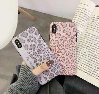 🚚 ✨豹紋矽膠手機殼✨