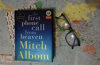 (SIGNED) Mitch Albom - First Phone Call From Heaven