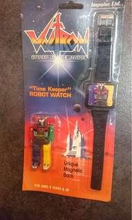 全新 未拆 絕版 Voltron 百獸王 手錶 全新品, 不知好懷, 1985年出產值得收藏 $800